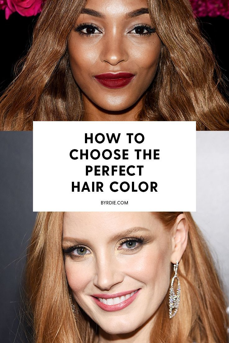 Best Hairstyles For 2017 2018 How To Choose The Perfect Hair Color