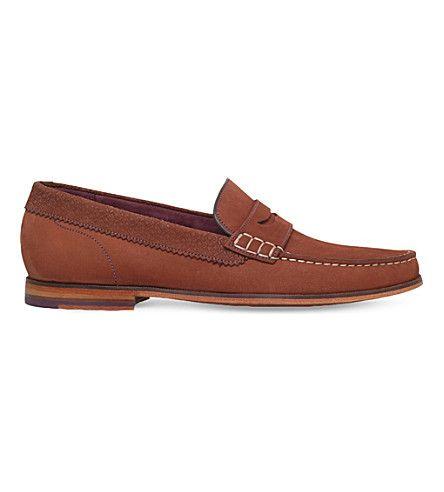 Ted Baker Tan Simba Tassle Loafers Bu4Yjjel Shop At Ease