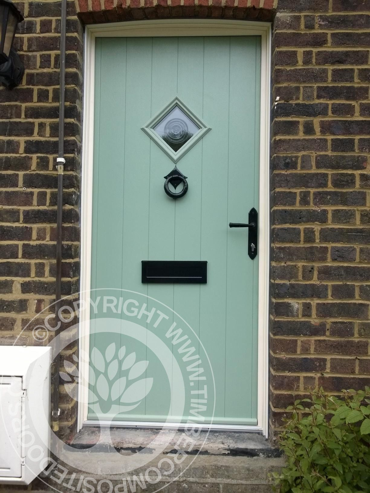 Chartwell Green Solidor Flint Composite Door Fitted By