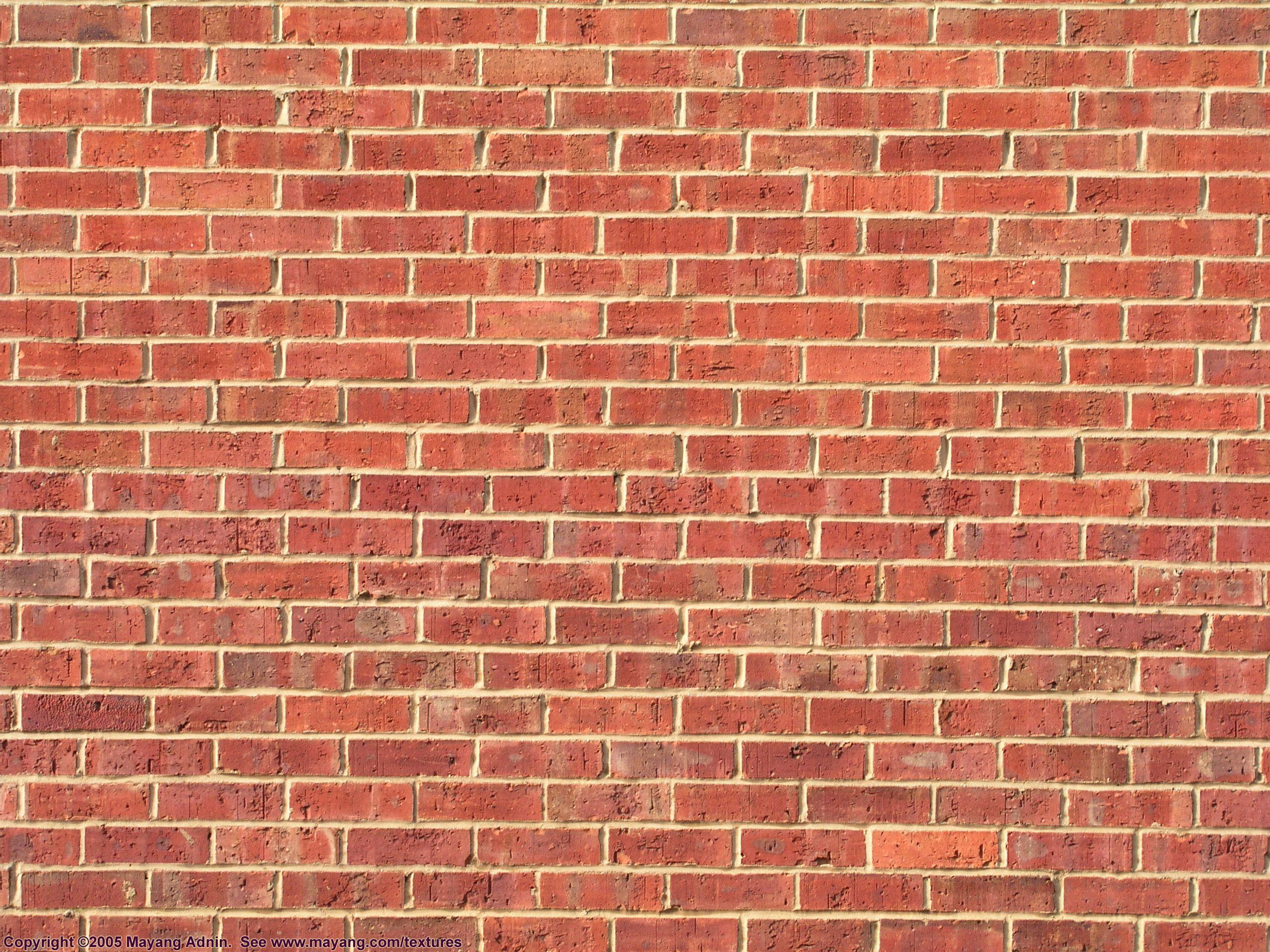 Red Brick Wall Mattoni Fatto A Mano Legno