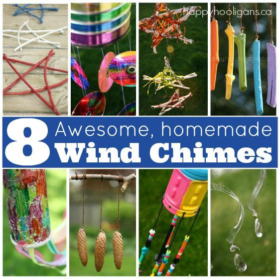 8 Homemade Wind Chimes For Kids With Images Wind Chimes Kids