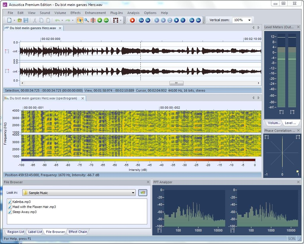 Audio Editor Windows 10 - AUDIO BARU
