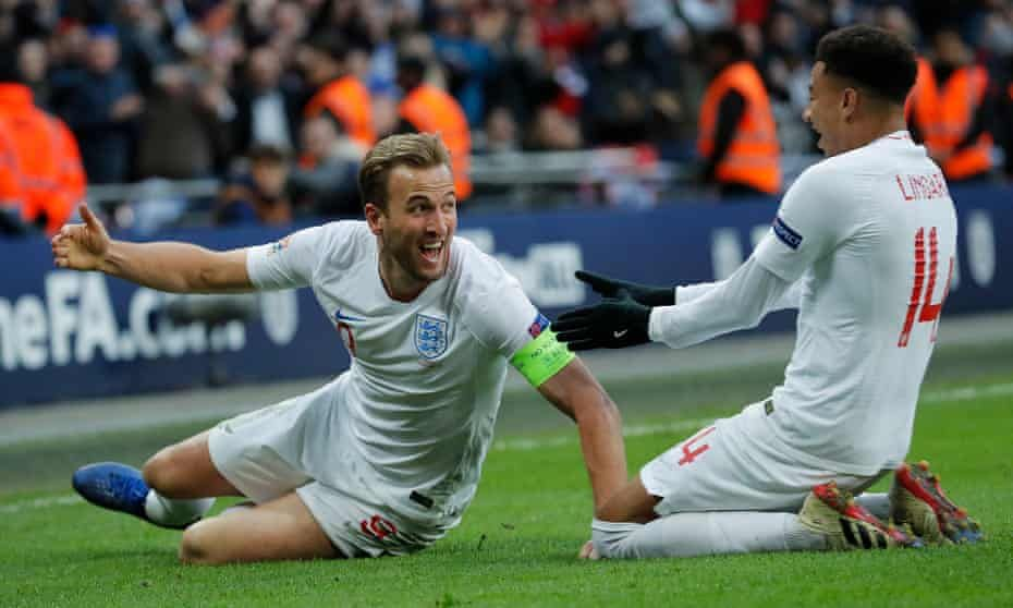 Harry Kane Strikes Late To Take England Through To Nations