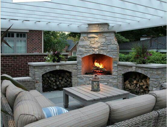 Relaxed Braai Area My Dream Home Interior Pinterest Outdoor Braai - outdoor küche selber bauen