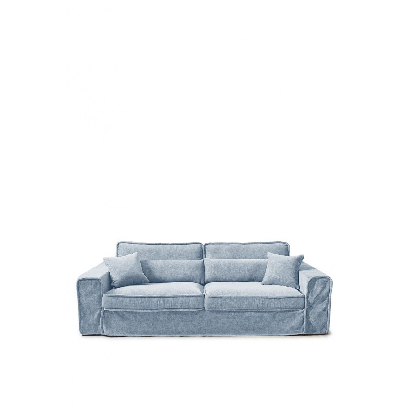 Ecksofa Fireside Metropolis Sofa 3 5 Seater Velvet Light Blue In 2019