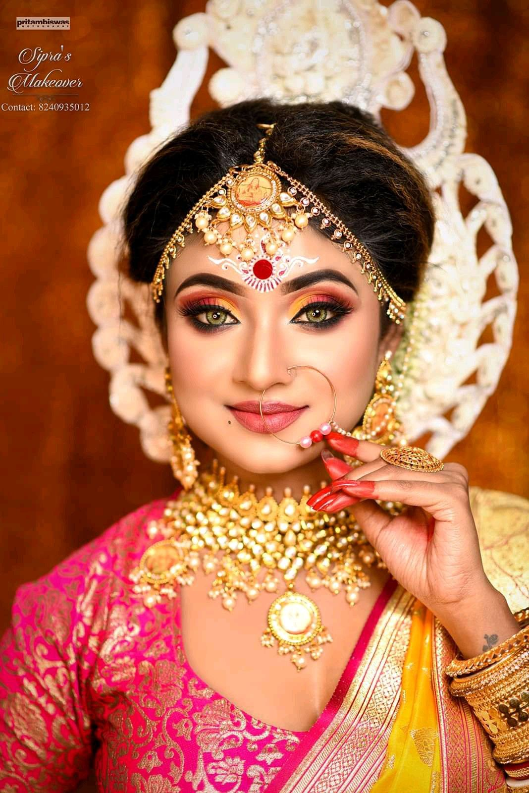 Idea by MADHUⓂ️ on bridal makeover Best bridal makeup