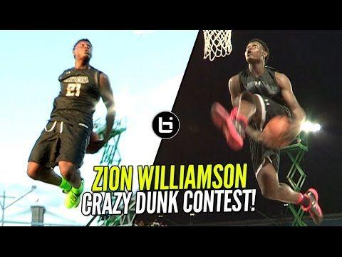 Zion Williamson CRAZY Dunk Contest