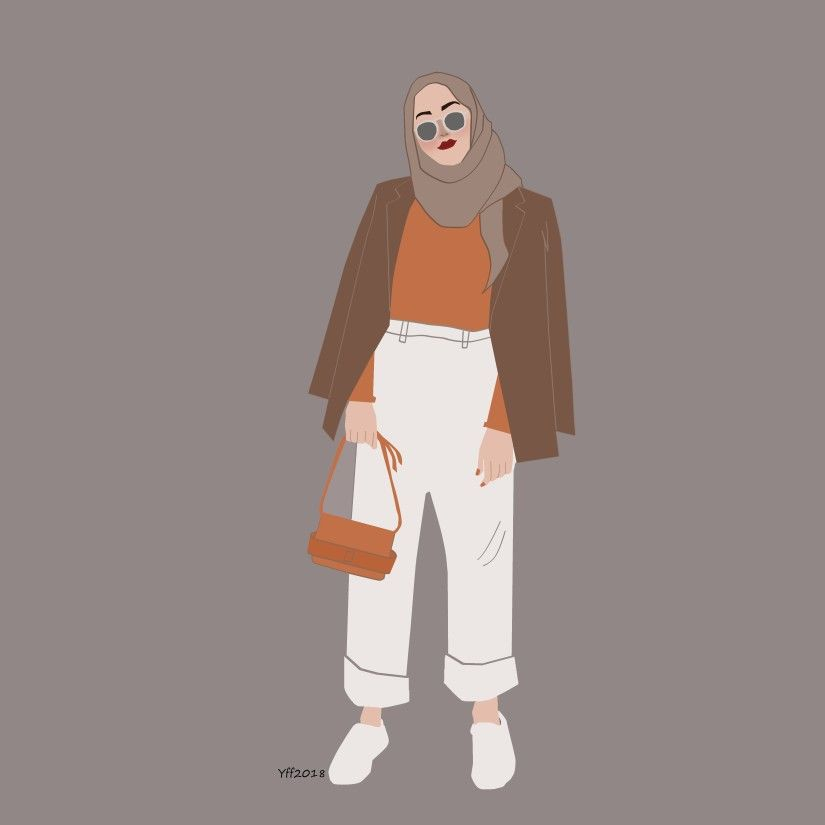 Outfitillustration Ootd Cuteillustration Yeefef Hijaboutfit