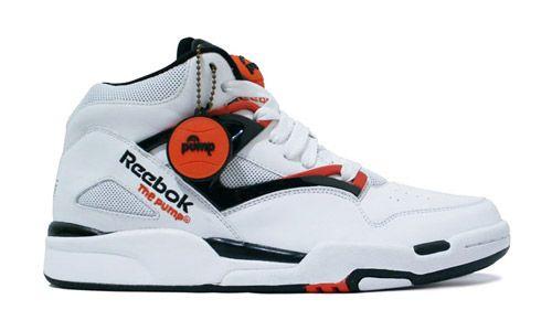 retro reebok pump trainers