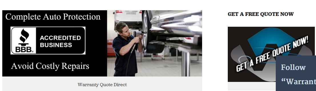 HttpWarrantyquoteNet Extended Auto Warranty Vehicle Service