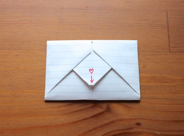How To Fold Origami Notes For Valentines Day Like You Did In