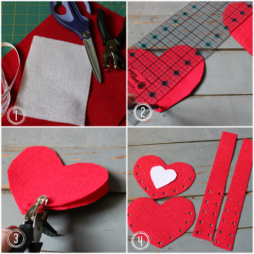 Make It Felt Valentine Card Holder by DIY Louisville  Projects