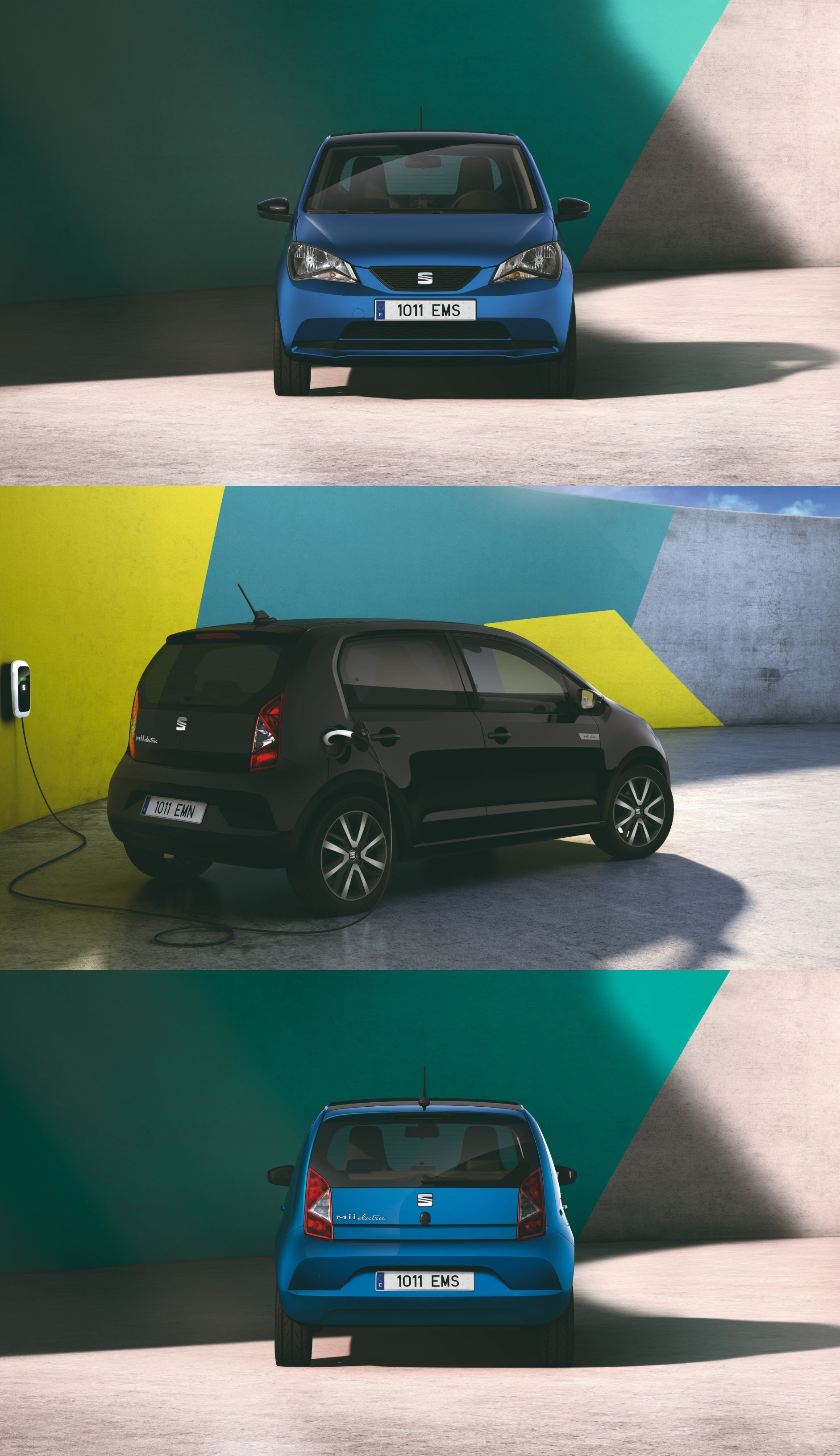 The New Seat Mii Electric Small In Size And A Stylish Design The