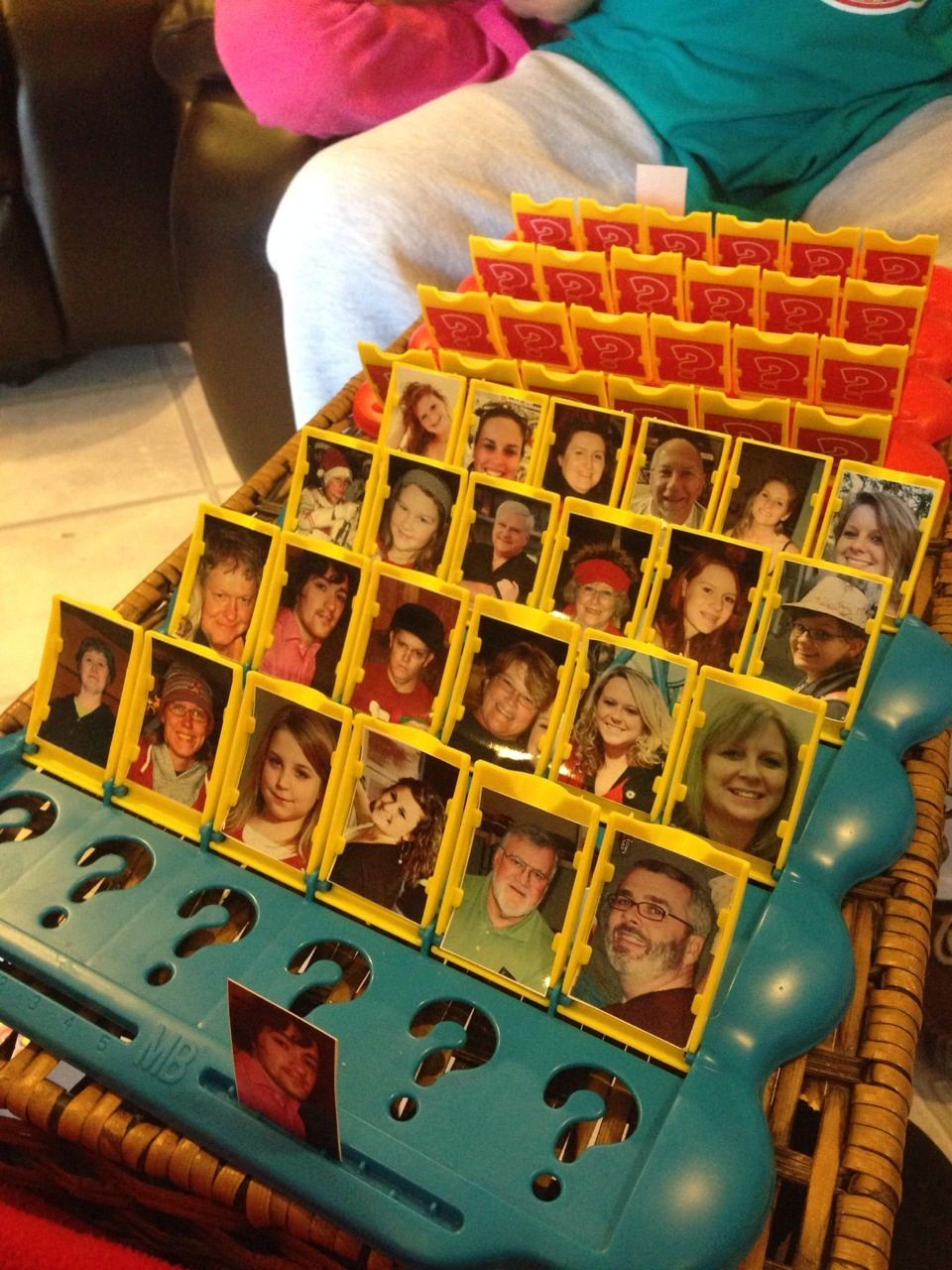 Guess Who friends edition ! Hilarious for a game night