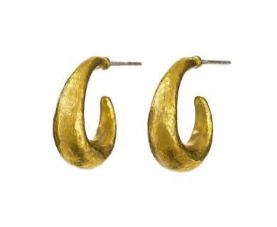 aca29b11430 Yossi Harari - Roxanne Hoop Earrings in New Earrings. Organic hoops ...