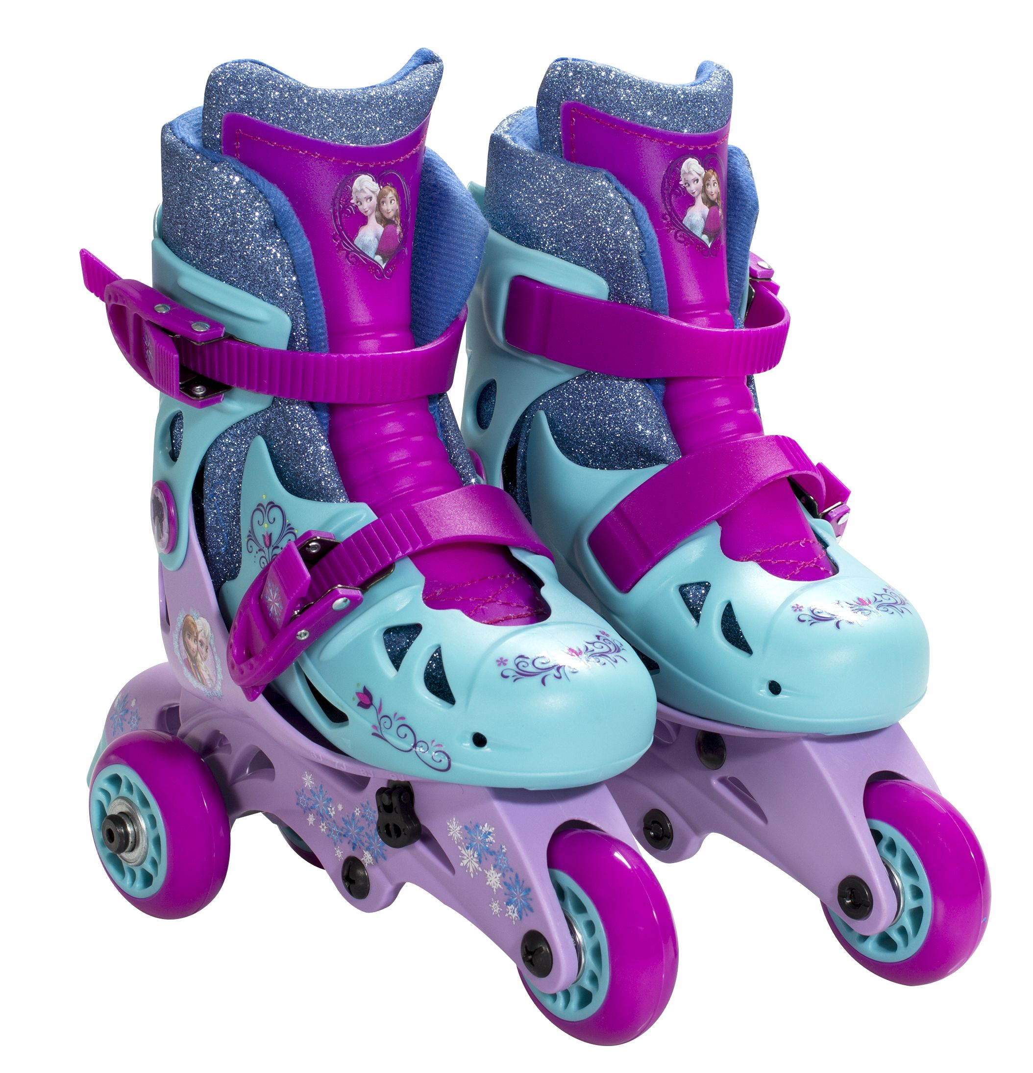 Rollerblades And Toys : Convertible glitter in skates available at