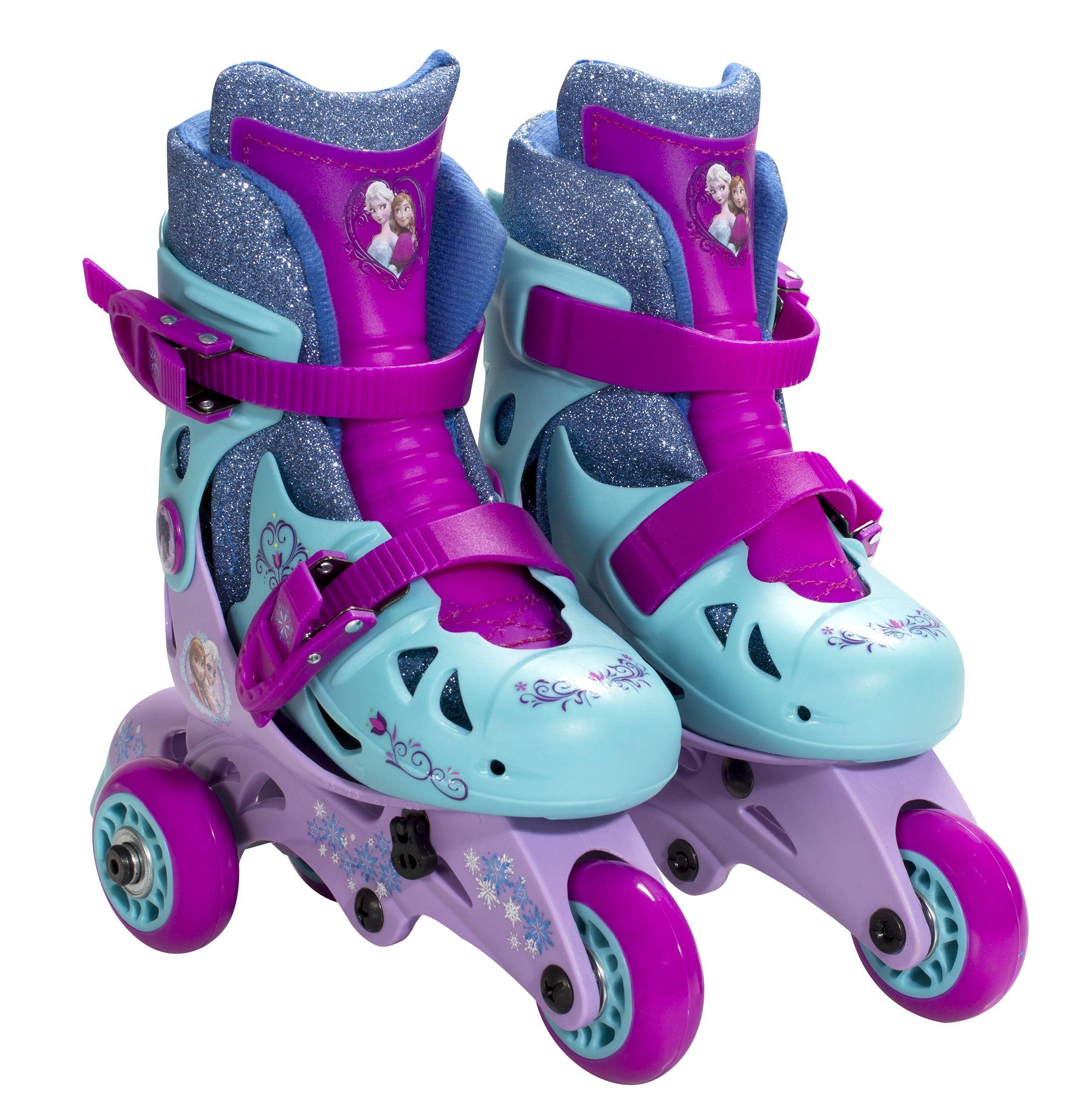 Frozen roller skates walmart - Convertible Glitter 2 In 1 Skates 39 99 Available At Target Frozen