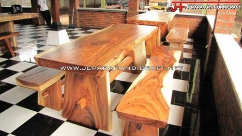 meja makan besar, meja makan kayu, meja makan minimalis, meja makan murah, meja solid besar, meja trembesi, set meja murah
