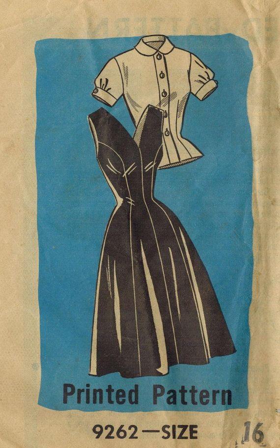 Vintage 1950s Marian Martin Pattern