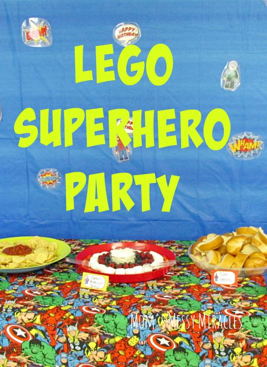 LEGO Superhero Party - Superhero birthday party, Superhero party, Lego party favors - 웹