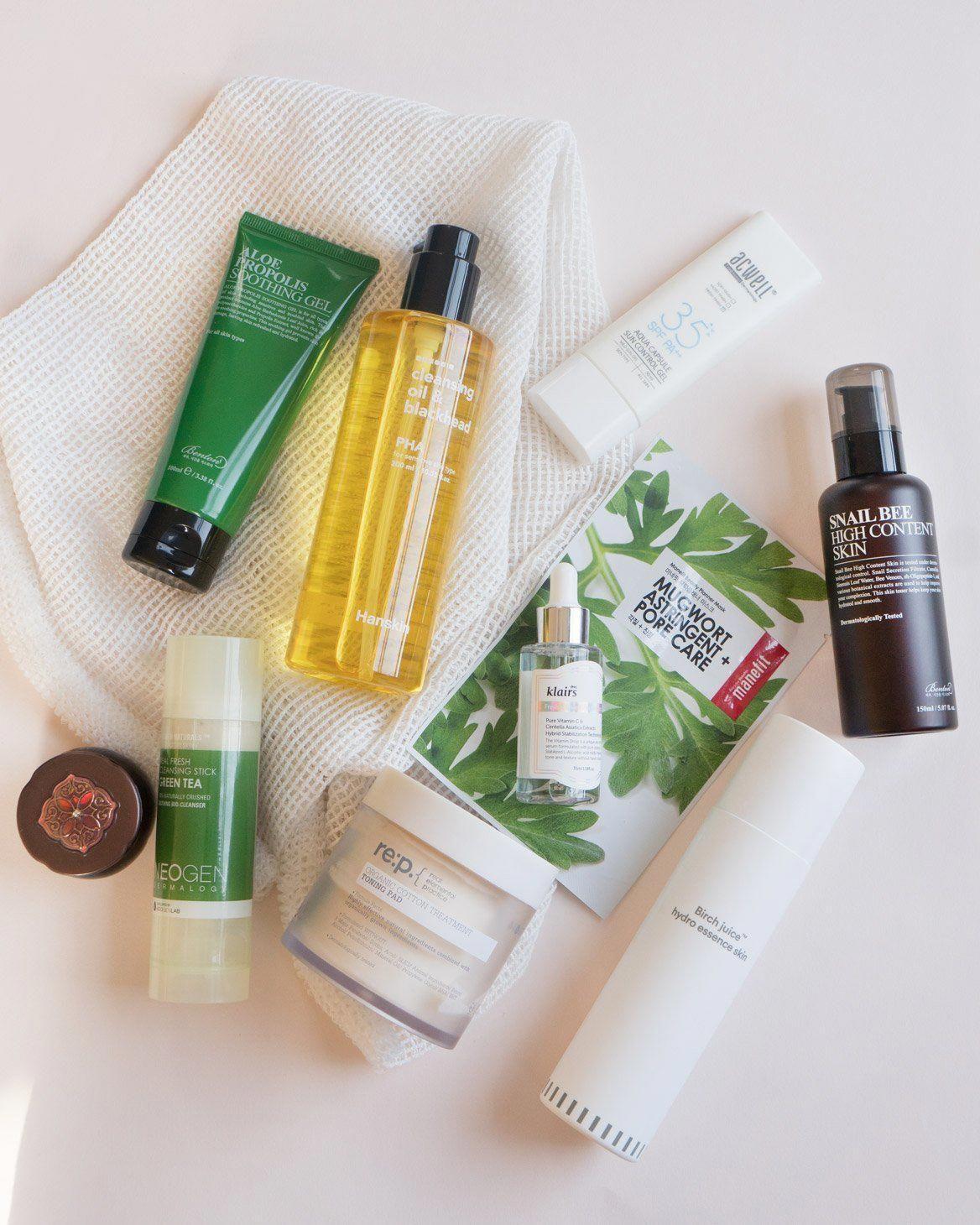 10Step Korean Skin Care Routine Set (Oily Skin Type)