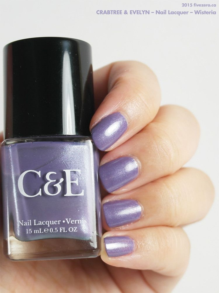 Crabtree & Evelyn — Wisteria (Nail Lacquer) Swatch & Review ...