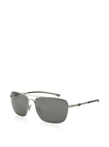15ea2ae0d7f Smith Sunglasses - Nomad   Frame  Matte Silver Lens  Polarized Gray  ChromaPop Polarchromic Smith