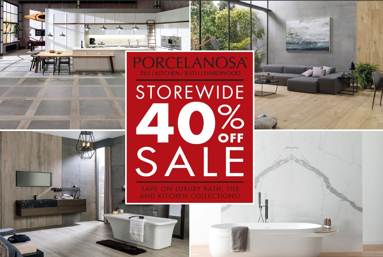 THANKSGIVING SALE] 40% OFF STOREWIDE Save on luxury bath, tile and ...