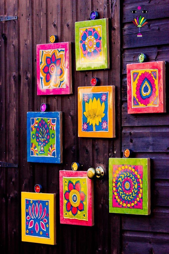 Kalamkari Inspired Art