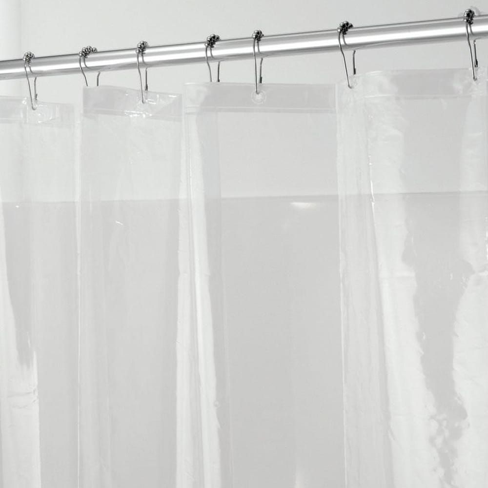 Heavyweight Mildew Resistant Vinyl Stall Shower Curtain Liner