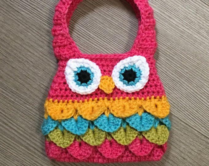 Crochet Pattern- Owl Purse | carteras tejidas | Pinterest