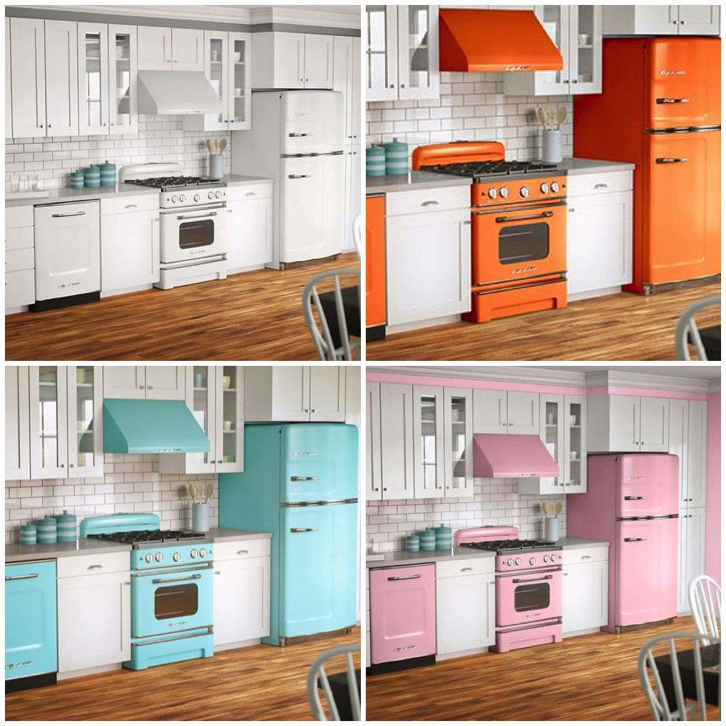 8 Ways to Give Your Kitchen a Facelift | Retro appliances ...