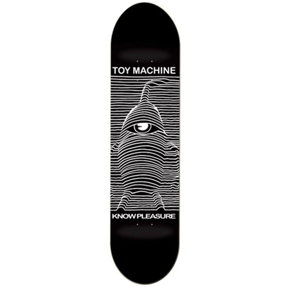 "Toy Machine Toy Division black deck 8"" - Decks - Skateboards  | Manchester's Premier Skateboard Shop | NOTE Skate Shop Manchester"