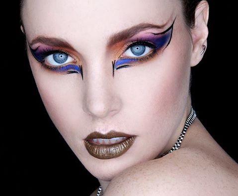 High Fashion Avant Garde Makeup Look Makeup Pinterest