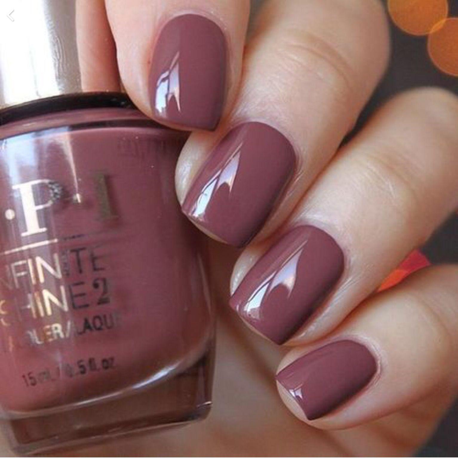 OPI Infinite Shine Linger Over Coffee | | nails | | Pinterest ...