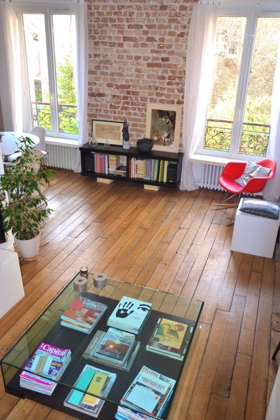 un mur de briques comme new york pour ma maison. Black Bedroom Furniture Sets. Home Design Ideas