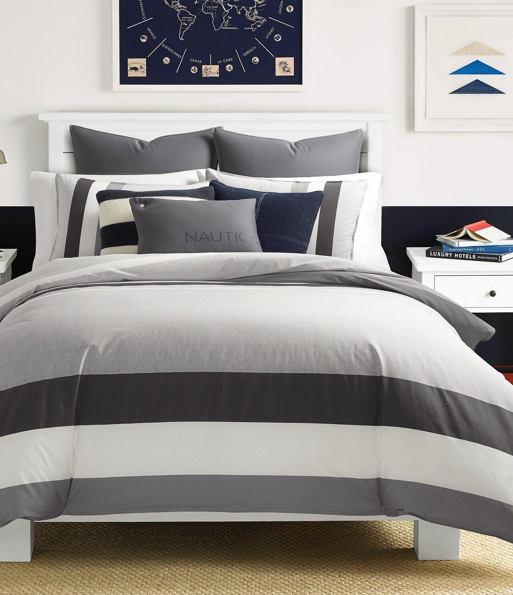Nautica Heritage Signal Stripe Duvet Mini Set Dillards Comforter Sets Twin Comforter Sets Duvet Comforter Sets