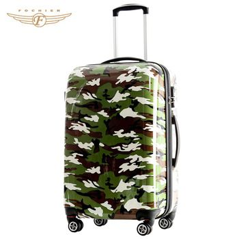 20 Inch Cool Military Camouflage Pattern Hardside Polo Luggage Bag Suitcase Travel Luggage Suitcases Suitcase Luggage
