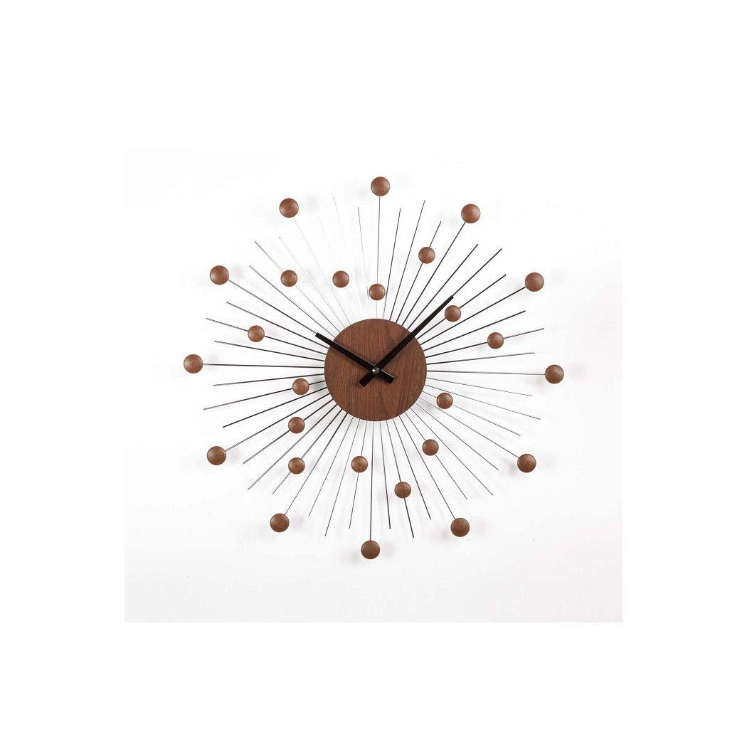 Stilnovo Mid Century Star Clock En