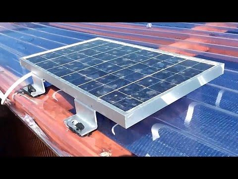 12v Solar Power Installation For A Small Shed Casas De Madera De Madera Casas