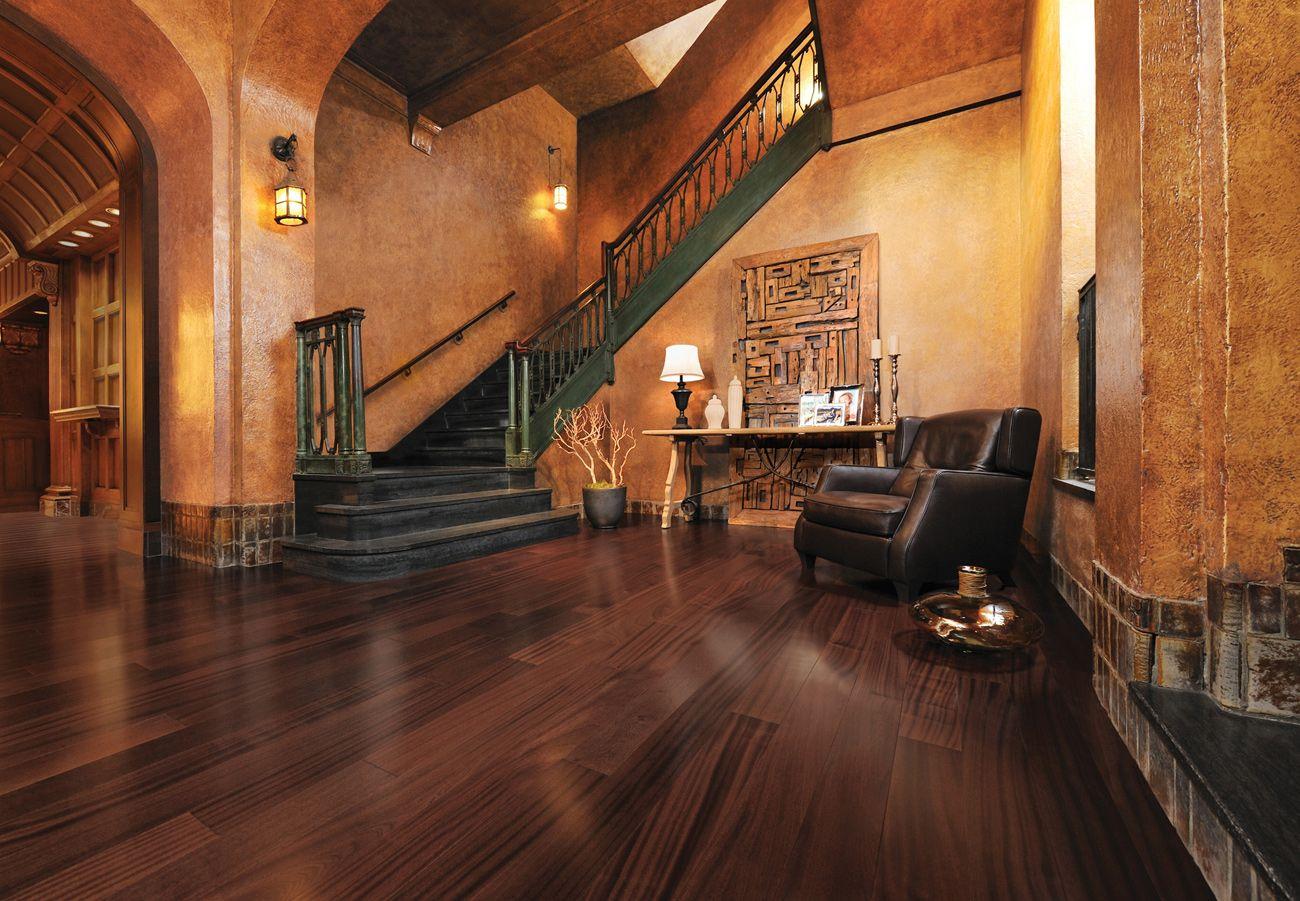 African Mahogany Henna Mirage Hardwood Floors C R Flooring