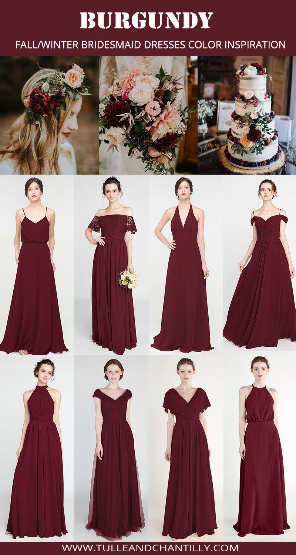 Long Short Bridesmaid Dresses 79 149 Size 0 30 And 50 Colors Fall Bridesmaid Dresses Burgundy Bridesmaid Dresses Long Long Bridesmaid Dresses
