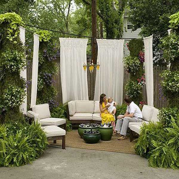 22 fascinating and low budget ideas for your yard and patio 22 fascinating and low budget ideas for your yard and patio privacy solutioingenieria Gallery
