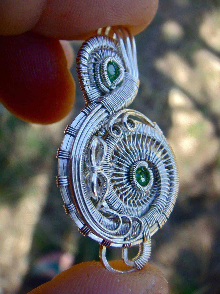 Michael Boyer #wirewrap #jewelry #wirewrapjewelry | Wire Wrap ...