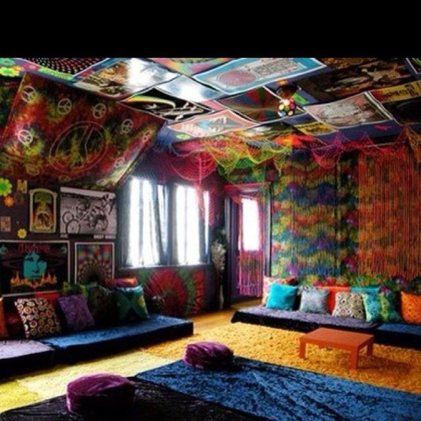 Unique Hippie Home Decor Ideas 04 Hippie House Chill Room Hippie Living Room