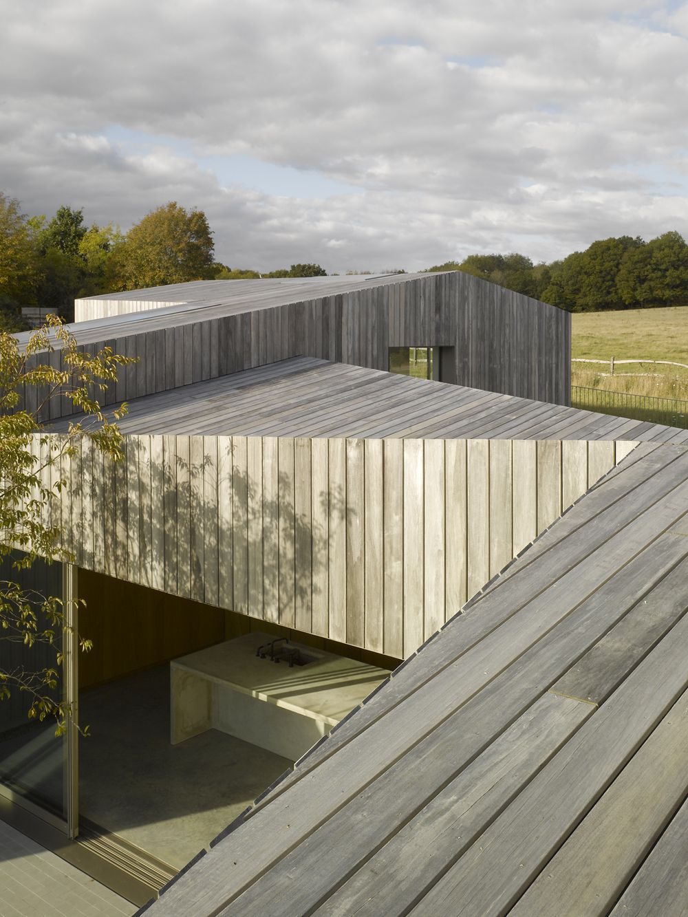 duggan morris architects / old bearhurst addition, east sussex