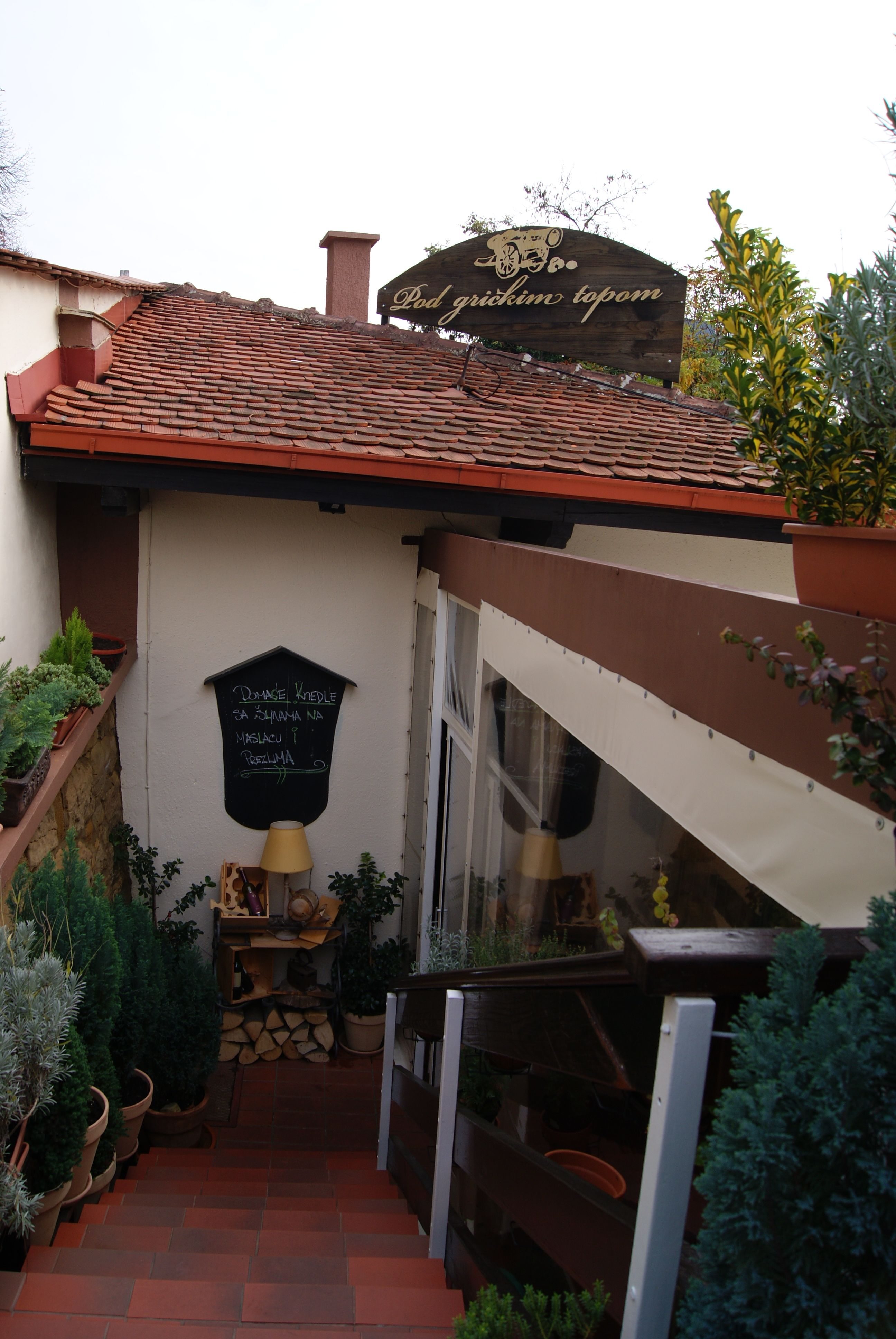 Had Very Good Lunch In Cozy Family Owned Restaurant Pod Grickim Topom Resturant Is In The Heart Of Zagreb Let The Owner Decide Resturant Wine Recipes Travel
