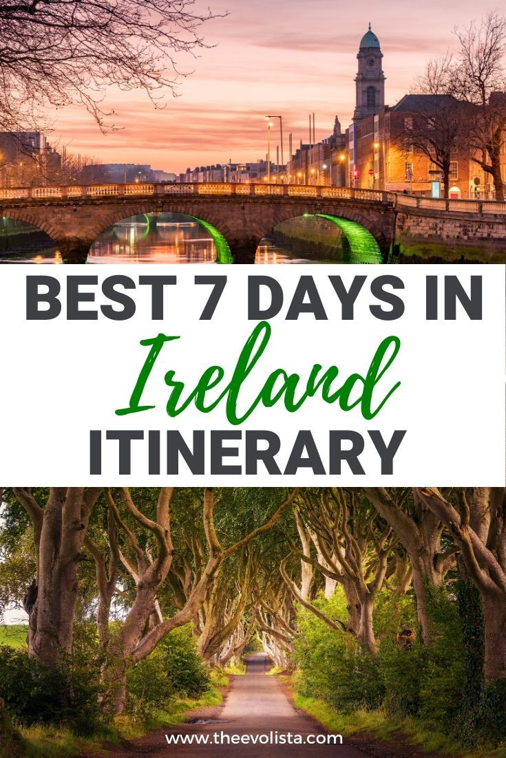 7 Days In Ireland Itinerary Including Northern Ireland