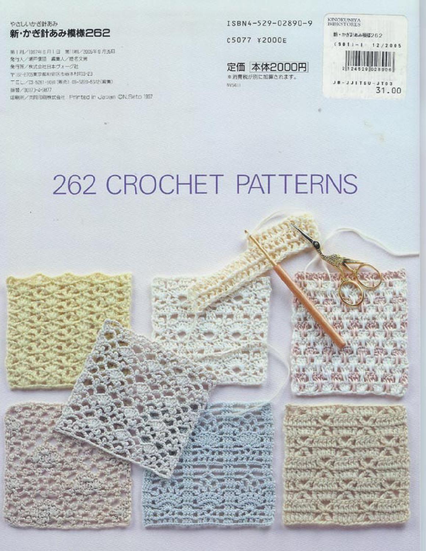 262 patrones crochet | Amantes, Patrones de crochet y Patrones