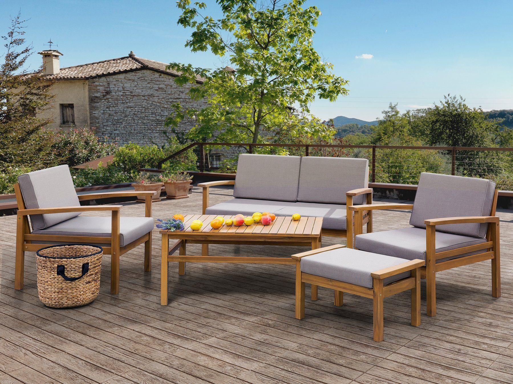 Acacia Wood Garden Conversation Set Manila Outdoor Sofa Sets Garden In The Woods Outdoor Furniture Sets